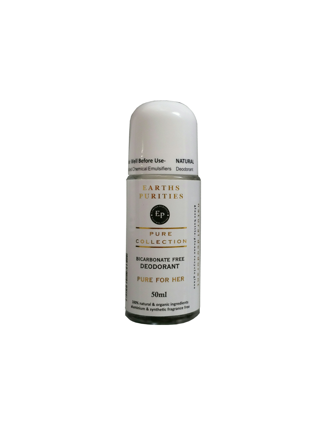 Earths Purities For Her Bi-Carb Free Deodorant 50g