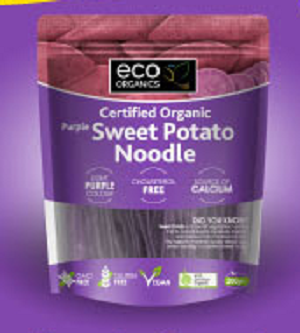 Eco Organics Organic Purple Sweet Potato Noodle 200g