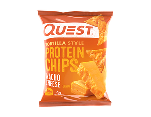 Quest Tortilla Style Protein Chips - Nacho Cheese 32g