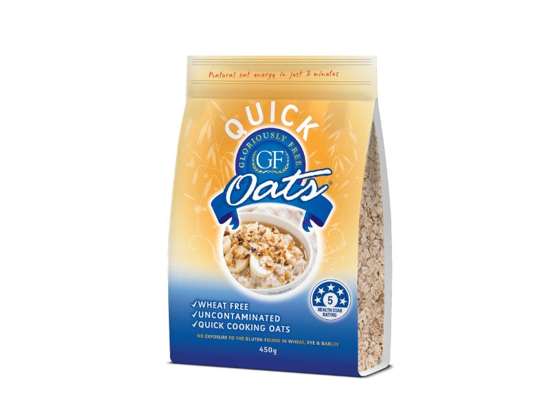 Gloriously Free Rolled Quick Oats 450g