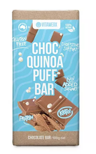 Vitawerx - Milk Chocolate Quinoa Puff Block 100g