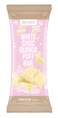 Vitawerx - White Chocolate Quinoa Puff Bar 35g