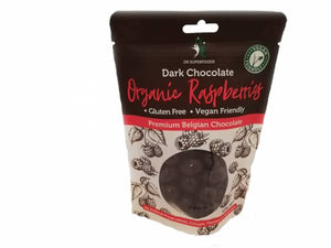 Dr Superfoods Dark Chocolate Organic Raspberries 125g