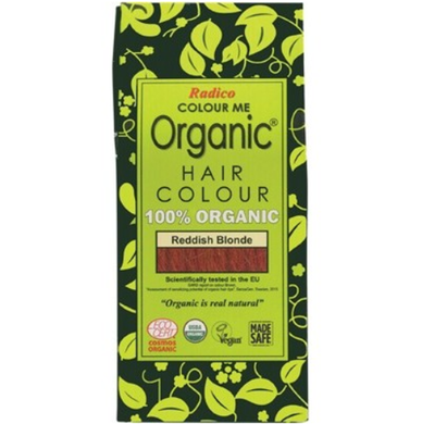 Radico Colour Me Organic - Hair Colour Powder - Reddish Blonde 100g