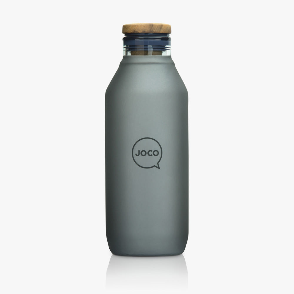 Joco Reusable Drinking Flask  20oz - Black 600ml