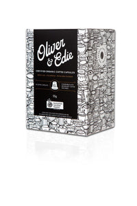 Oliver & Edie Coffee Capsules Certified Organic 10 Pods
