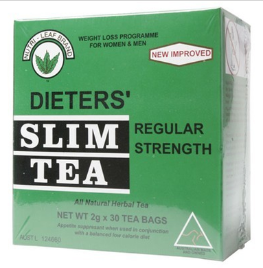Nutri- Leaf Slim Tea Regular Strength 30 bags