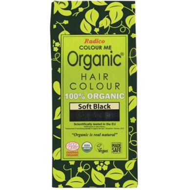 Radico Colour Me Organic - Hair Colour Powder - Soft Black 100g