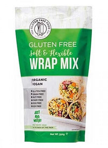 THE GLUTEN FREE FOOD CO. Soft & Flexible Wrap Mix - 350g