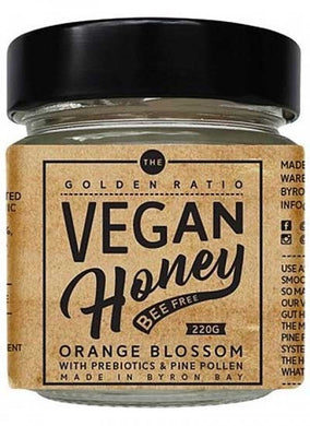 The Golden Ratio Vegan Honey Orange Blossom with Prebiotics 220g
