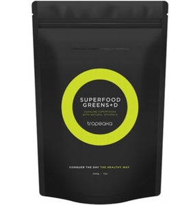 Tropeaka Superfood Greens With Vitamin D 200g