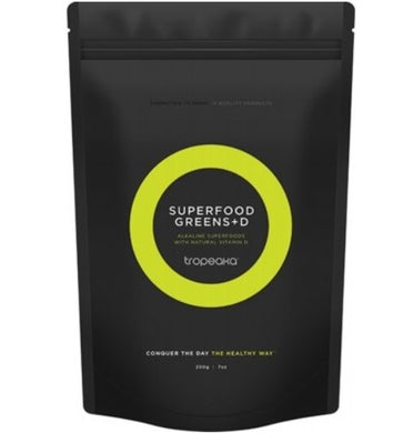 Tropeaka Superfood Greens With Vitamin D 450g