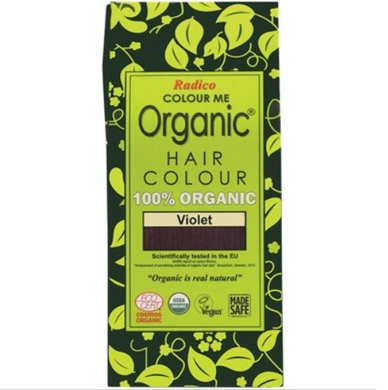 Radico Colour Me Organic - Hair Colour Powder - Violet 100g
