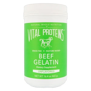 Vital Proteins Collagen Protein Beef Gelatin Pasture-Raised 465g