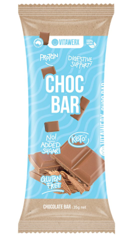 Vitawerx - Milk Chocolate 35g Bar