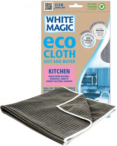 White Magic Eco MicroFibre Cloth Kitchen 1Pk