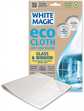 White Magic Eco MicroFibre Glass / Window 1Pk