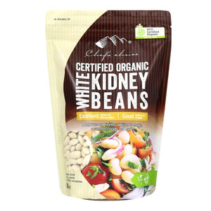Chef's Choice Organic White Kidney Beans 500g