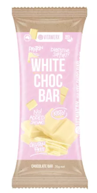 Vitawerx - White Chocolate Bar 35g