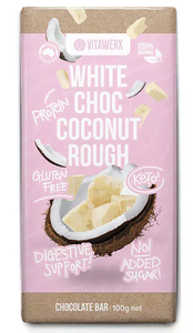 Vitawerx - White Chocolate Coconut Rough Block 100g