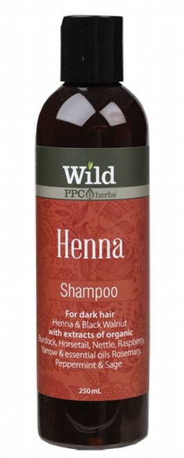 Wild Henna Shampoo (Dark Hair) 250ml