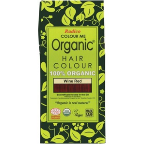 Radico Colour Me Organic - Hair Colour Powder - Wine Red 100g