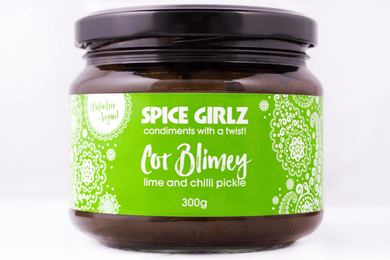 Spice Girlz Cor Blimey Lime & Chilli Pickle - 300g