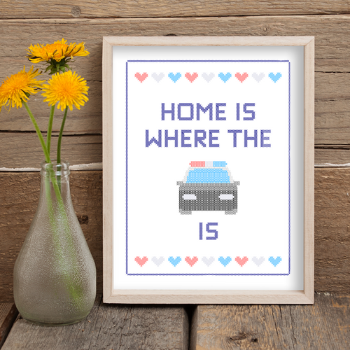 Home Is Where The Cruiser Is Printable