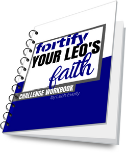 Fortify Your LEO's Faith Challenge Workbook