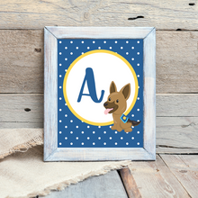 K9 Monogram Wall Art Printables