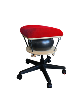Språng Stool 2.0 - Rosso Corsa Red Yoga Stretch