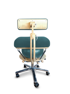 Språng Chair 2.0 - Deluxe Edition | Teal Linen