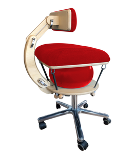 Språng Chair 2.0 - Deluxe Edition | Rosso Corsa Red Yoga Stretch