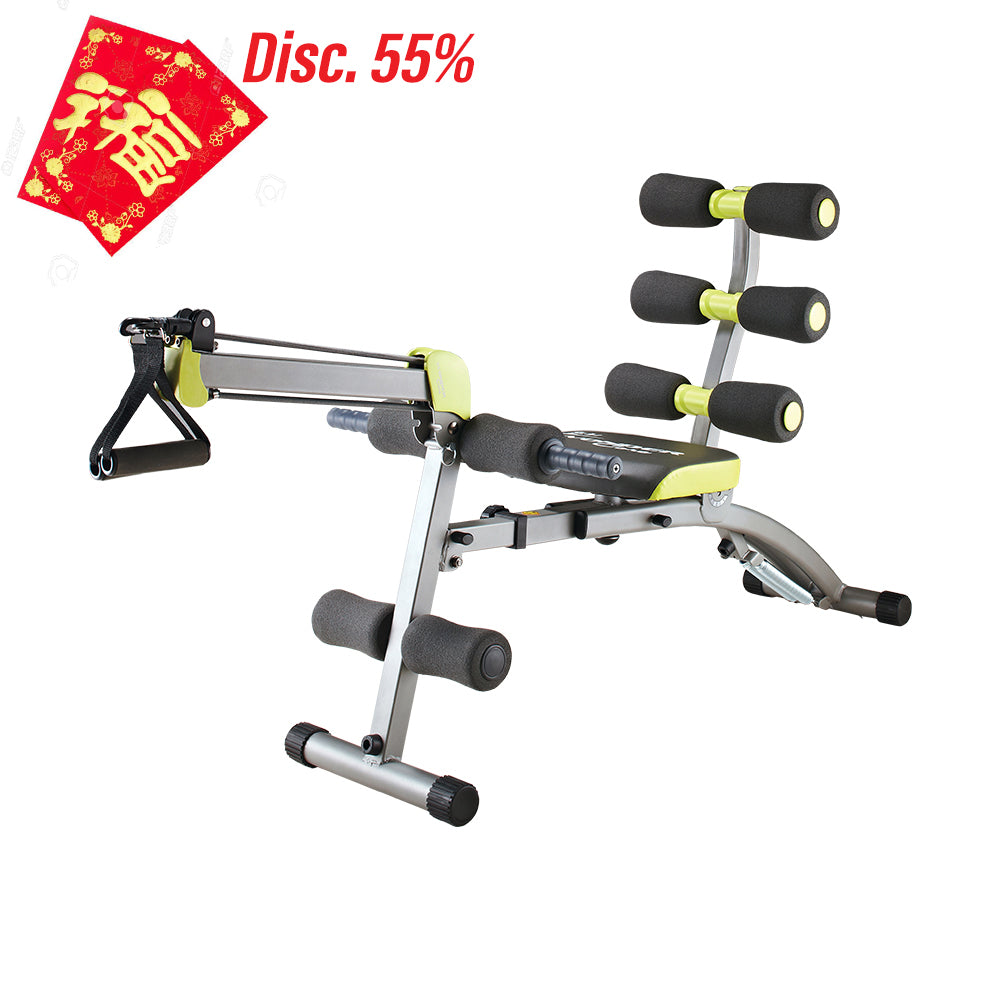 wonder core 2, perfect abs, cny promotion, fitness equipment