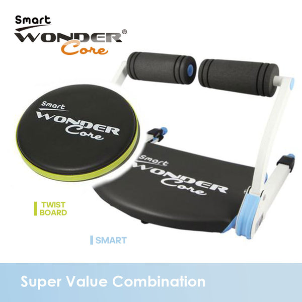wonder core smart, twist board, belly fat, waist curve