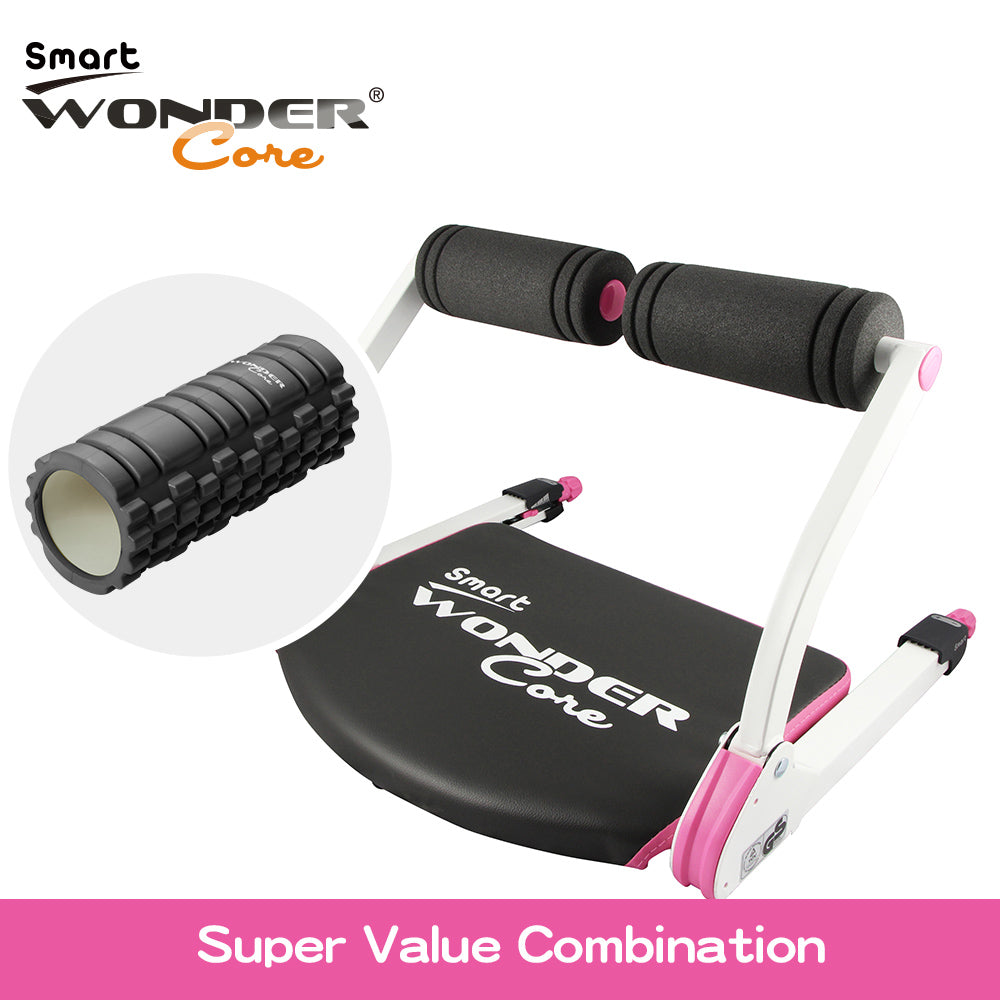 (FREE MASSAGE ROLLER) WONDER CORE SMART (PINK)