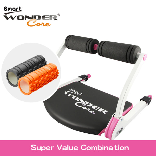 WONDER CORE SMART (PINK) + MASSAGE ROLLER