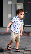 Boys Lil' Braddah Short Sleeve Woven Shirt - My Birds Of Paradise