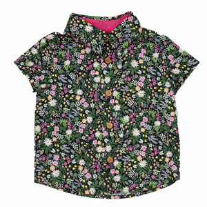 Boys Lil' Braddah Short Sleeve Woven Shirt - Superbloom