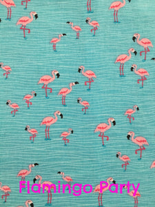 Boys Lil Braddah' Short Sleeve Woven Shirt - Flamingo Party