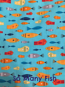 So Many Fish - Short Sleeve Woven Shirt