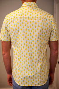 Hands Off My Piñas - Short Sleeve Woven Shirt