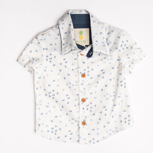 Boys Lil Braddah' Short Sleeve Woven Shirt - Bird Is the Word