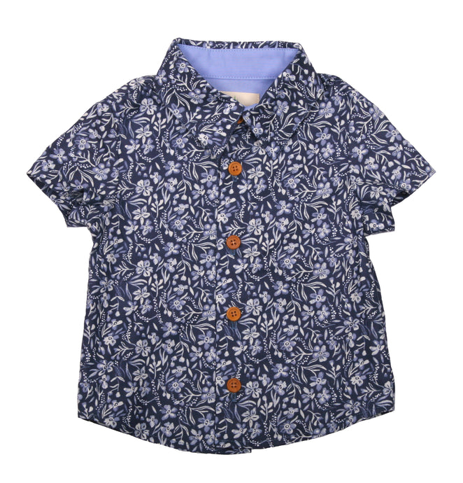 Boys Lil' Braddah Short Sleeve Woven Shirt - Morning Glorious