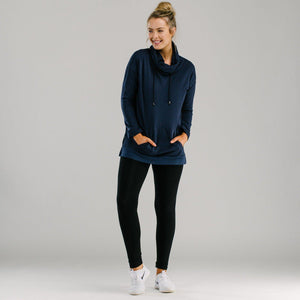 Comfy slouch pullover - Navy Dresses Avila the label