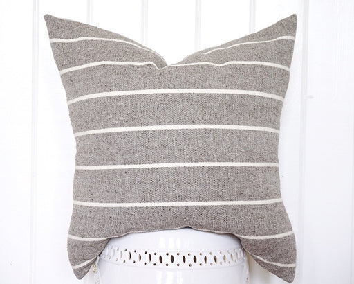 18x18 Mexican Striped Pillow Cover / Euro / Bedroom / Handwoven