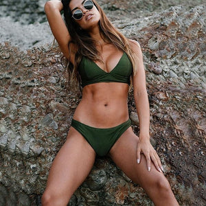 Fierce Green Bikini