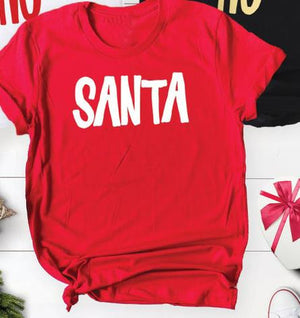 Santa Christmas Couple cute T-Shirt