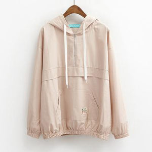 trendy-loose-windbreaker-jacket-tan