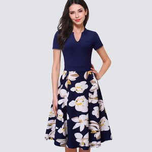 Exile Floral Strictly Business Dress